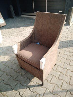 2 stuks dining stoelen textyleen