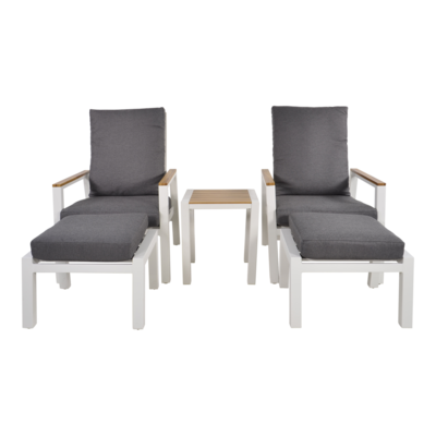 Lounge duoset Coda wit