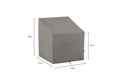 Loungeset beschermhoes 75x78x90 cm