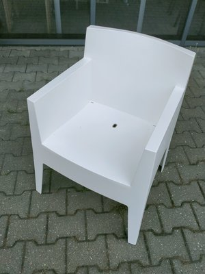2 stuks driade stoelen wit philip starck