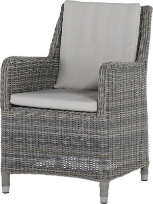 Indigo medium loungestoel 4 seasons outdoor kleur: Rock