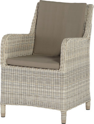 Indigo medium loungestoel 4 seasons outdoor kleur: Provance