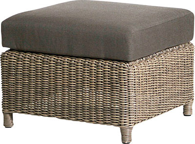 Lodge footstool 4seasonsoutdoor