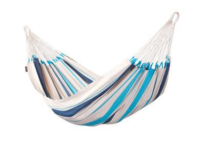 1-persoons hangmat Caribena aqua-blue
