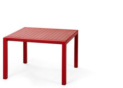 Nardi Aria 60 loungetafel 60x60 rood