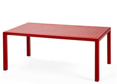 Nardi Aria 100 loungetafel 100x60 rood