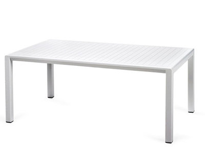 Nardi Aria 100 loungetafel 100x60 wit