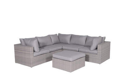 Loungeset Nice in de kleur organic grey