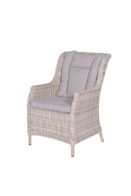 Osborne wicker tuinstoel. kleur passion willow
