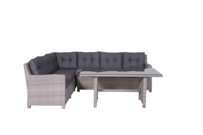 Grenoble medium loungeset in de kleur organic grey