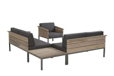 4 seasons outdoor loungeset Cava teak I