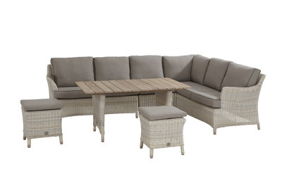 4 seasons outdoor medium loungeset Valentine kleur: Provance