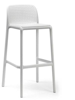 Nardi kunststof barkruk Lido, Bianco/wit