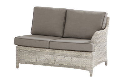 4 seasons outdoor medium 2-zits loungemodule links Valentine kleur: Provance