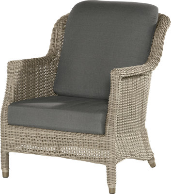 Del mar loungestoel 4 seasons outdoor kleur: pure
