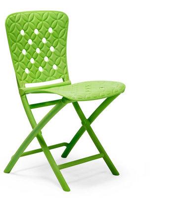 Nardi kunststof klapstoel Zac Spring kleur: lime