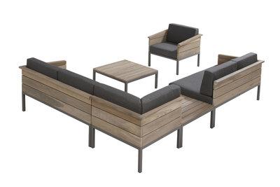 4 seasons outdoor loungeset Cava teak II