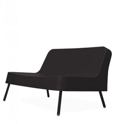 Kunststof Loungebank BOB van Resol kleur: zwart