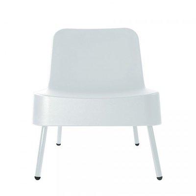 Kunststof Loungestoel BOB van Resol kleur: wit