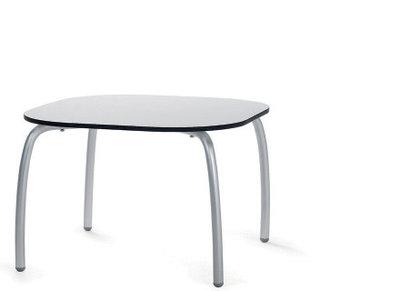 Loto relax tafel vierkant 60 cm van Nardi kleur wit