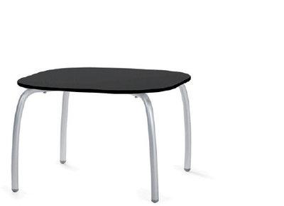 Loto relax tafel vierkant 60 cm van Nardi kleur antraciet