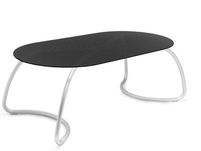 Loto dinner tafel ovaal 190 cm van Nardi kleur antraciet