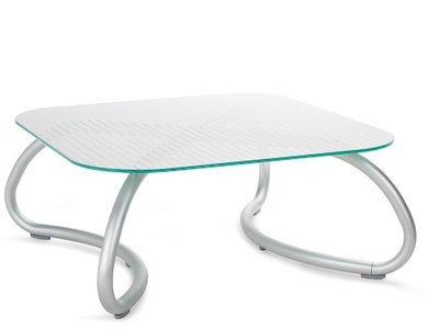 Loto relax tafel vierkant 95 cm van Nardi kleur wit