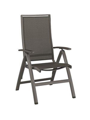 Kettler morendo verstelbare stoel kleur: antraciet