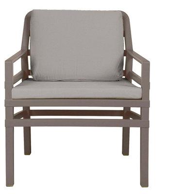 Nardi Aria Kunststof Loungestoel kleur: tortora/grijs