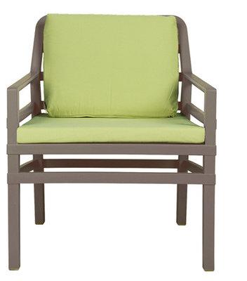 Nardi Aria Kunststof Loungestoel kleur: tortora/lime