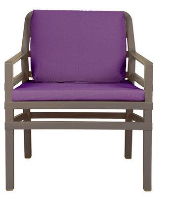 Nardi Aria Kunststof Loungestoel kleur: tortora/paars