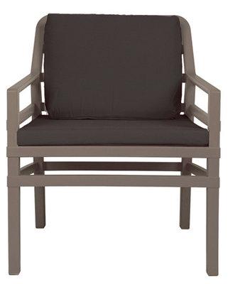 Nardi Aria Kunststof Loungestoel kleur: caffe/caffe