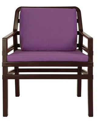 Nardi Aria Kunststof Loungestoel kleur: caffe/paars
