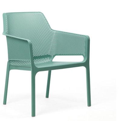 Nardi kunststof stoel Net Relax kleur: salice