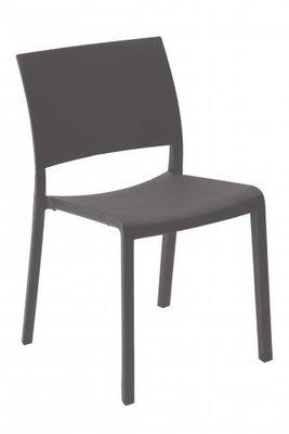 Fiona  terrasstoel Resol kleur: donker grijs