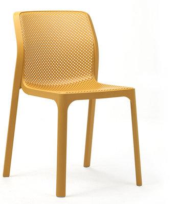 Nardi kunststof stoel Bit kleur: senape