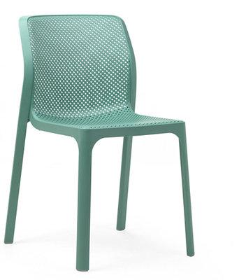 Nardi kunststof stoel Bit kleur: salice