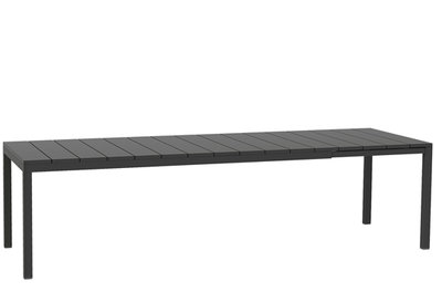 Nardi Rio uitschuif tafel 210/280x100 cm kleur: antraciet