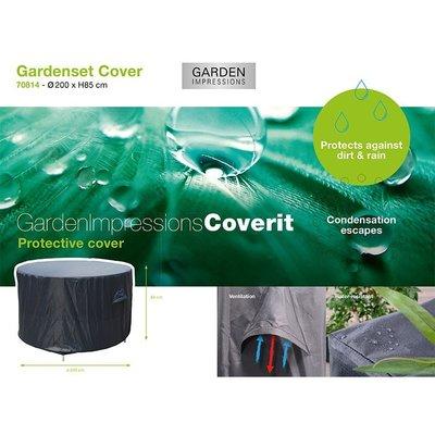 Coverit Tuinset beschermhoes rond 200x85 cm