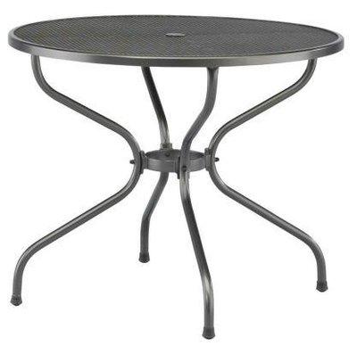 tafel strekmetaal rond 90 cm
