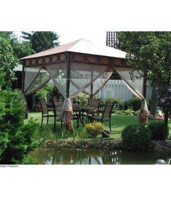 Safari tuinpaviljoen 3x3 meter
