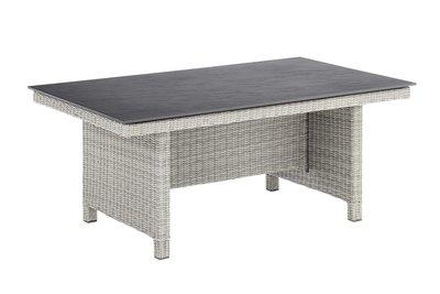 Kettler Palma modulair tafel, 160x95 cm white wash