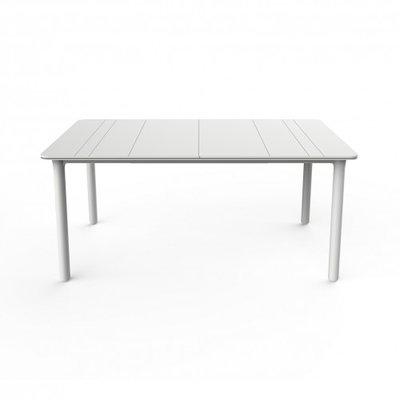 Resol Kunststof Tuintafel Noa 160x90 cm, kleur: wit