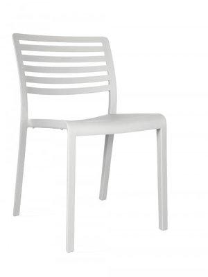 Lama Resol kunststof stoel kleur: wit