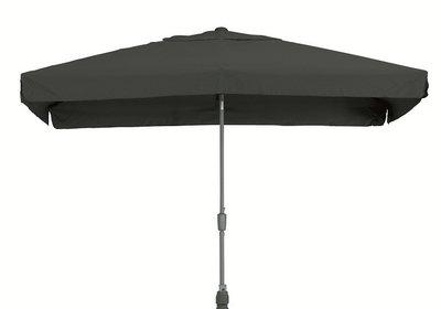 toledo rechthoekige parasol 2x3 meter, kleur antraciet