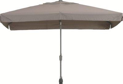toledo rechthoekige parasol 2x3 meter, kleur taupe