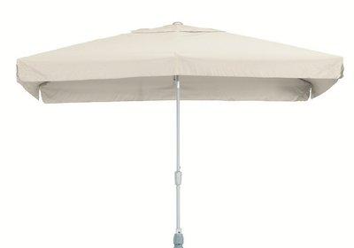 toledo rechthoekige parasol 2x3 meter, kleur grijs