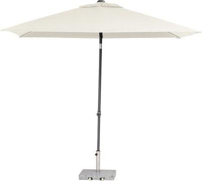 toledo rechthoekige parasol 250x200 cm, kleur ecru