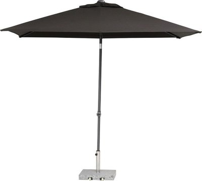 toledo rechthoekige parasol 250x200 cm, kleur antraciet
