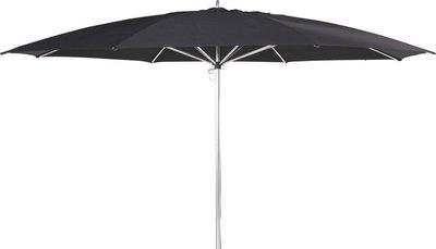 Ibiza ronde parasol 350 cm, kleur: antraciet